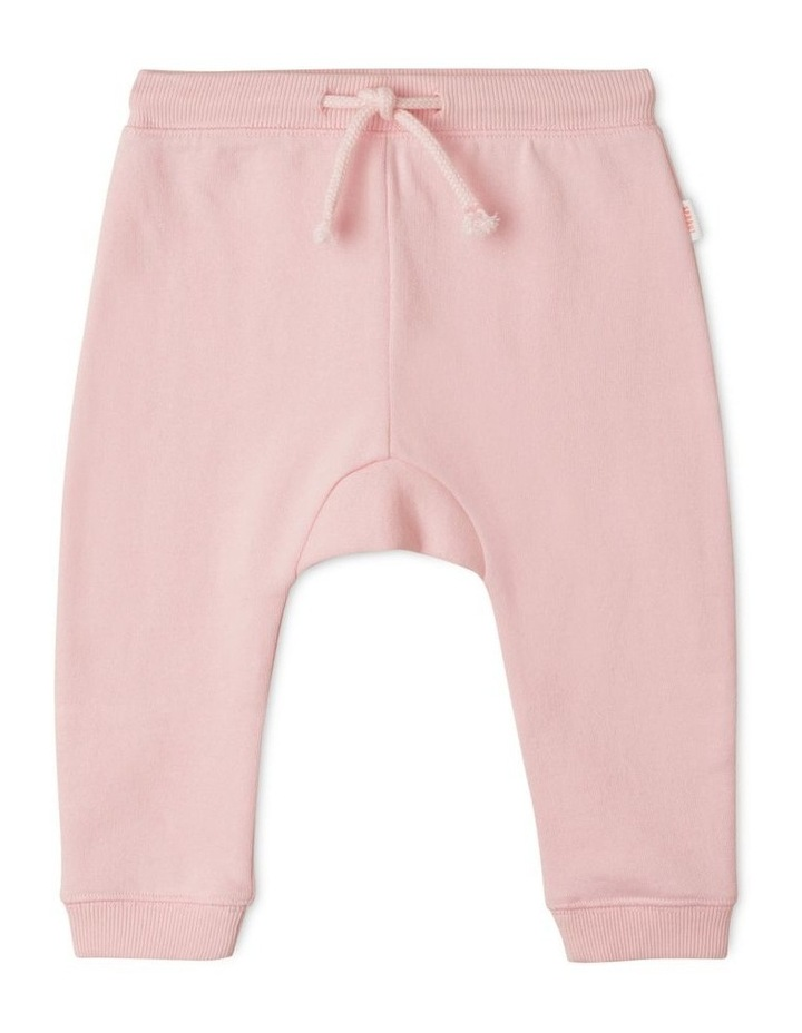Solid Essential Organic Trackpants Light Pink image 1