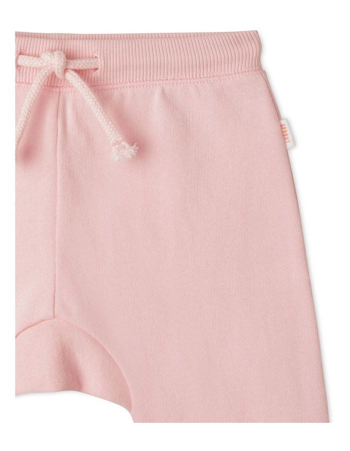Solid Essential Organic Trackpants Light Pink image 2