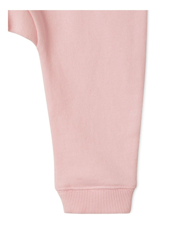 Solid Essential Organic Trackpants Light Pink image 3