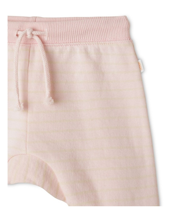 Pink Stripe Essential Organic Trackpant image 2