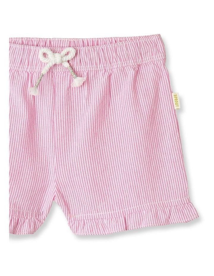 Essential Ruffle Puffle Stripe Shorts image 2