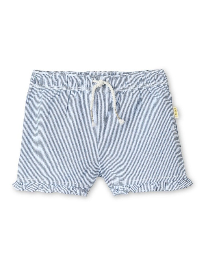 Essential Ruffle Puffle Stripe Shorts image 1