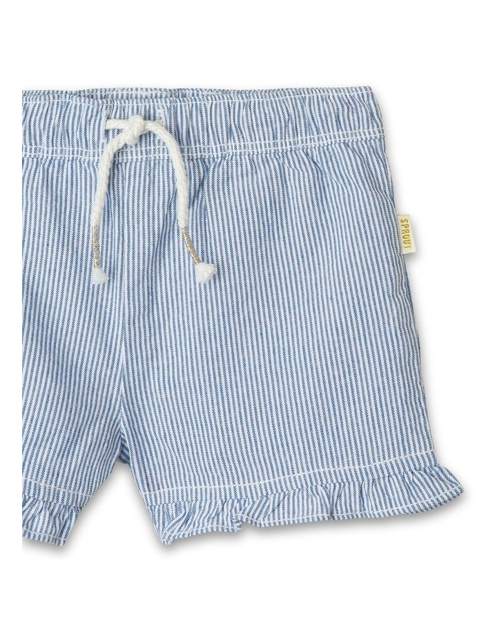 Essential Ruffle Puffle Stripe Shorts image 2