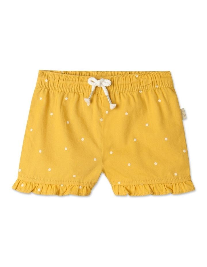 Essential Polka Dot Shorts Yellow image 1