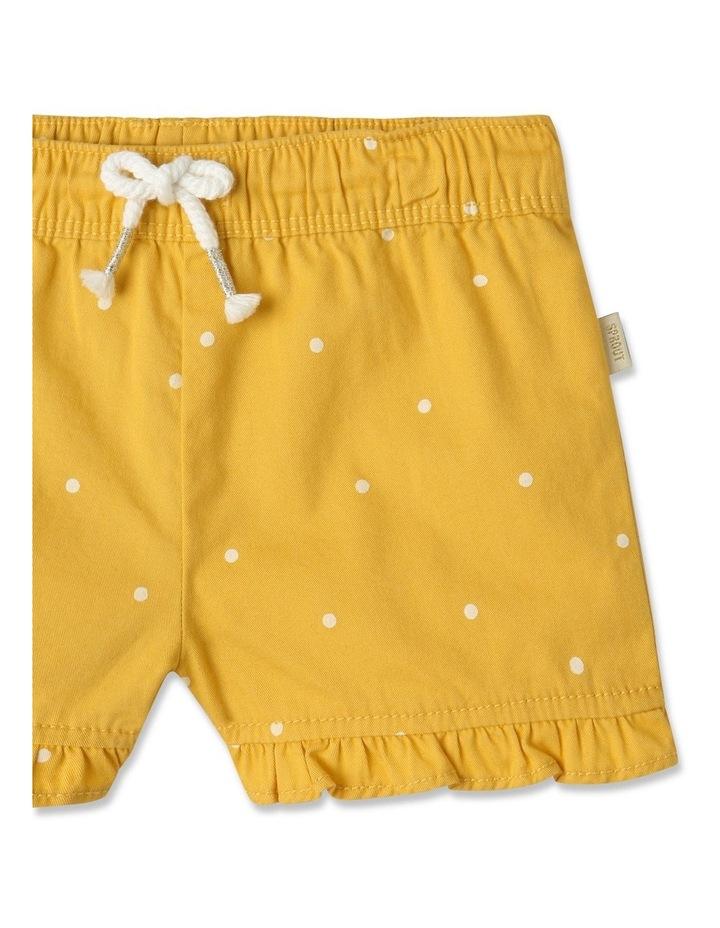 Essential Polka Dot Shorts Yellow image 2