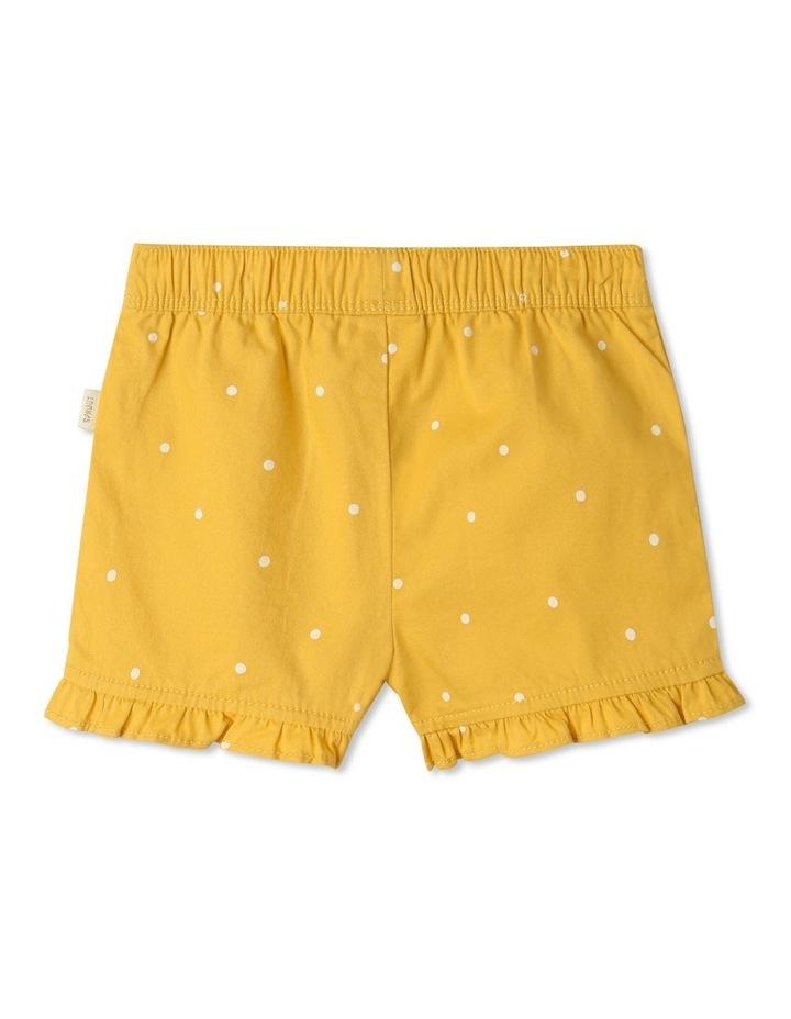 Essential Polka Dot Shorts Yellow image 4
