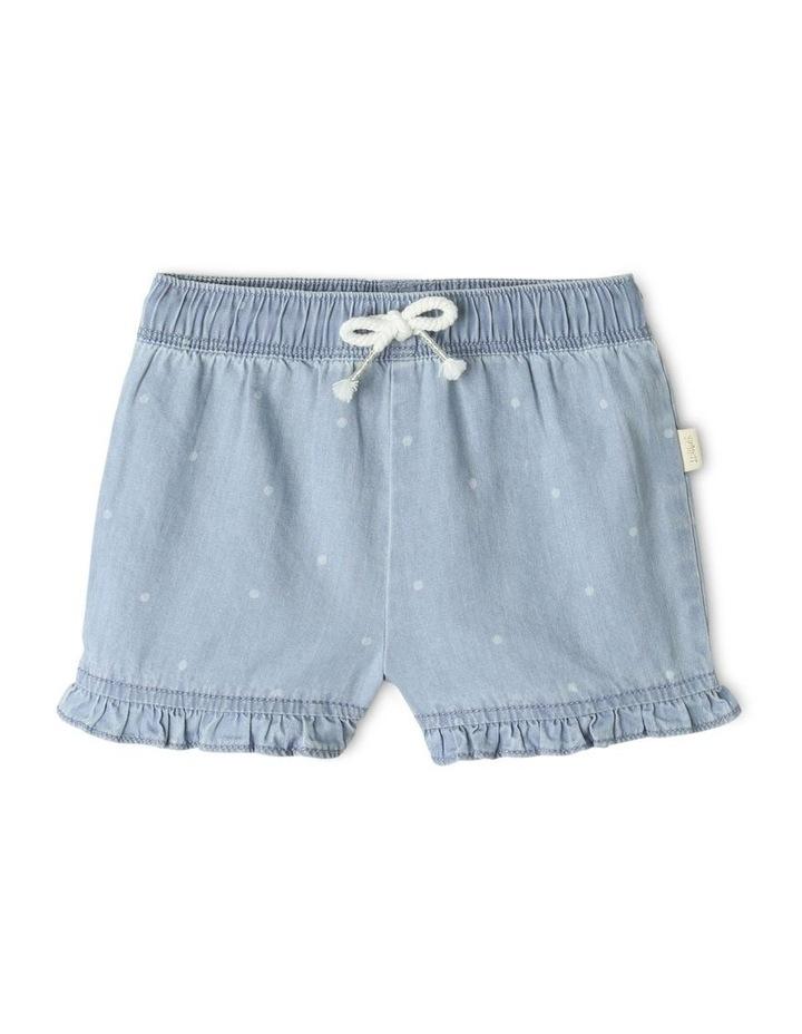 Essential Polka Dot Shorts Light Blue image 1