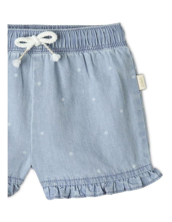 Essential Polka Dot Shorts Light Blue image 2