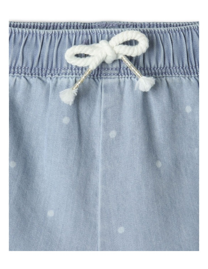 Essential Polka Dot Shorts Light Blue image 3