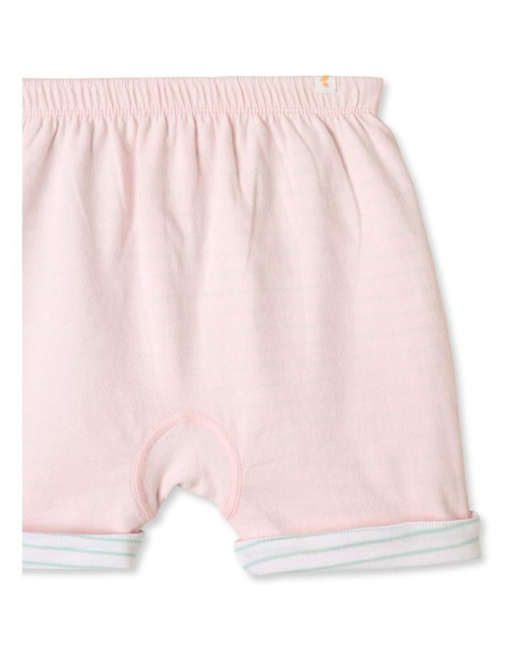 Organic Essential Reversible Shorts Pink image 3
