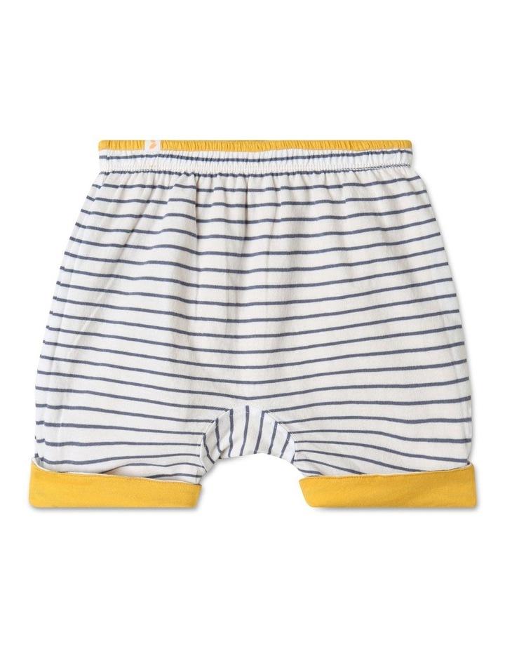 Organic Essential Reversible Shorts Yellow image 1