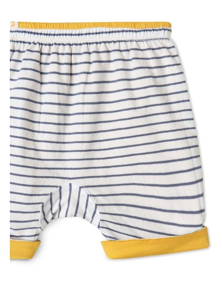 Organic Essential Reversible Shorts Yellow image 3