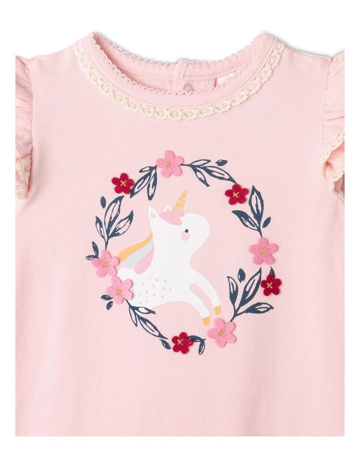 Cordelia Unicorn Coverall Light Pink image 2
