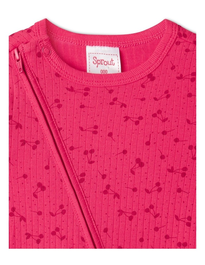 Organic Essential Coverall Cherry image 2
