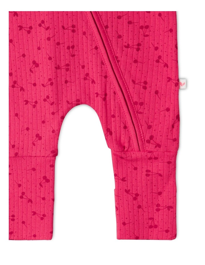 Organic Essential Coverall Cherry image 3