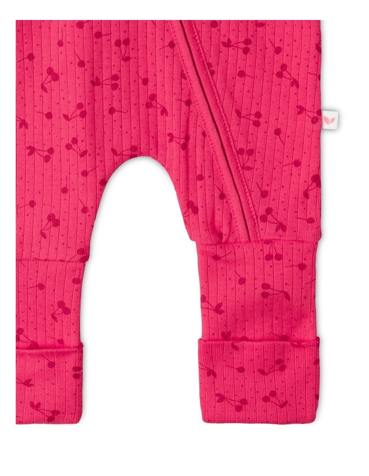 Organic Essential Coverall Cherry image 4