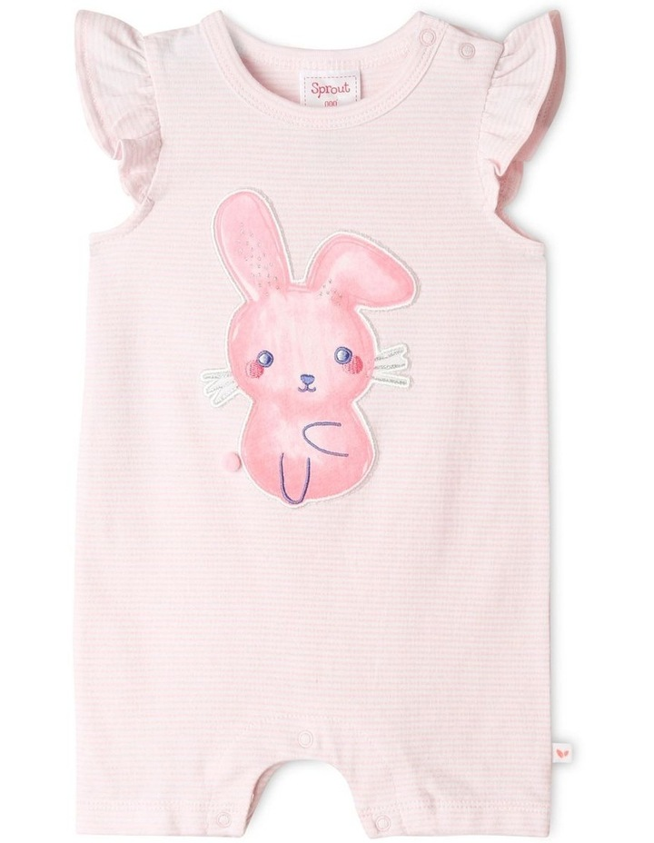 3D Butterfly Romper Pale Pink image 1