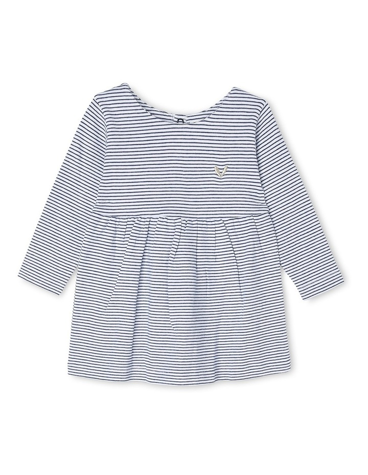 Long Sleeve Stripe Dress image 1