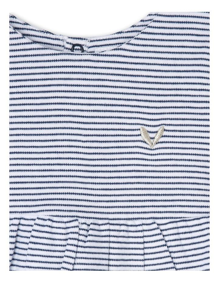 Long Sleeve Stripe Dress image 2
