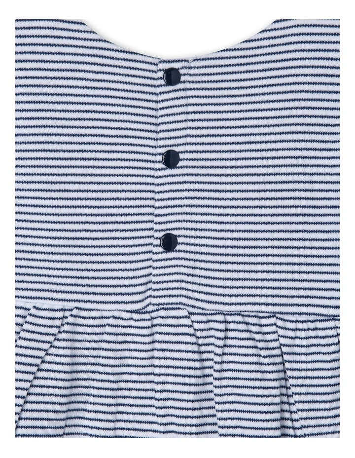 Long Sleeve Stripe Dress image 3