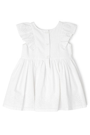 Sprout - Broderie Dress TGS19004-CW1.