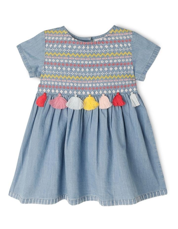 Girls Chambray Dress TGS19011 image 1