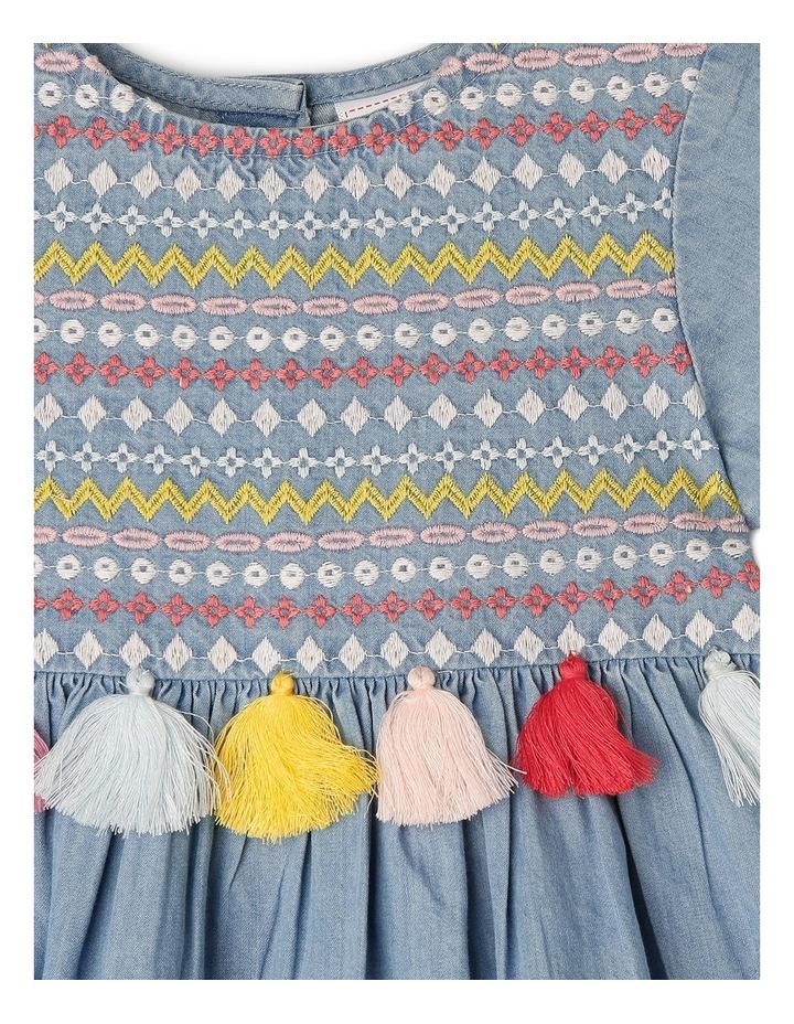Girls Chambray Dress TGS19011 image 2