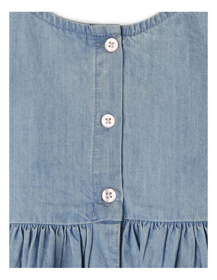 Girls Chambray Dress TGS19011 image 3
