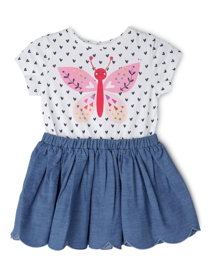 Girls 2Fer Tutu Dress image 1