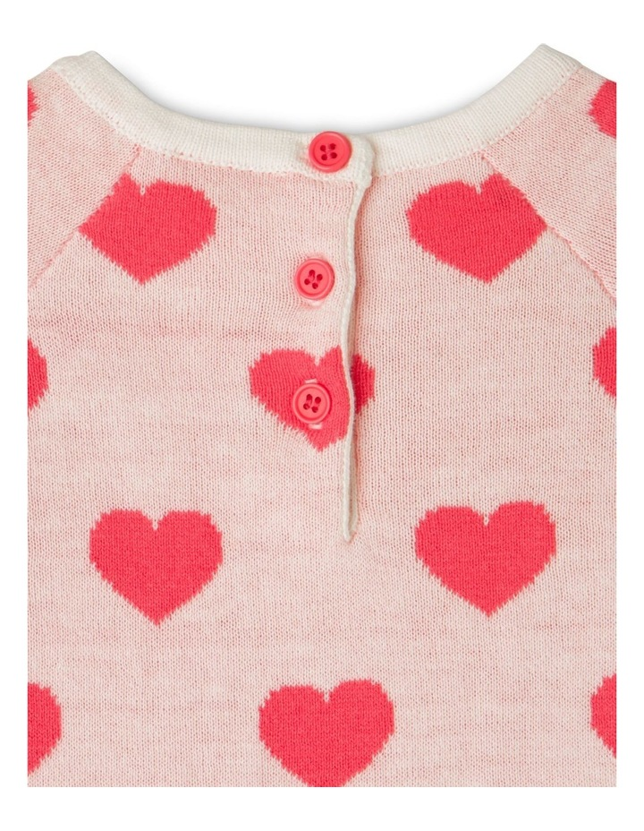 Heart Knit Dress image 3