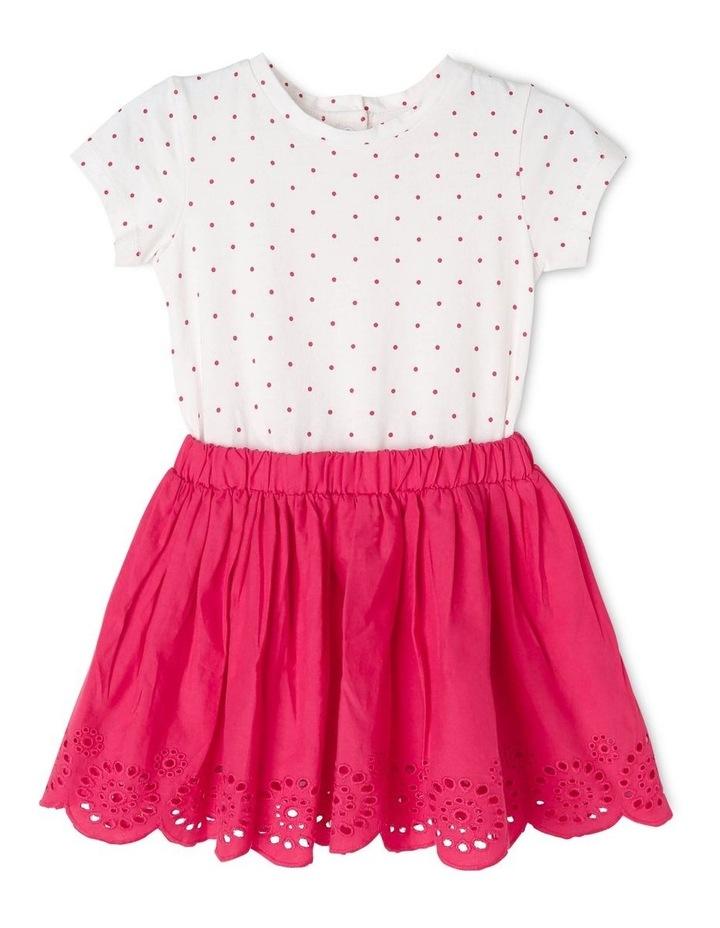Broderie Dress & T-Shirt Set image 1