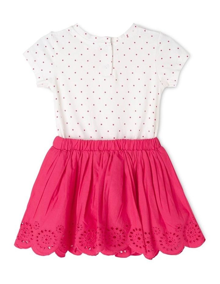 Broderie Dress & T-Shirt Set image 2