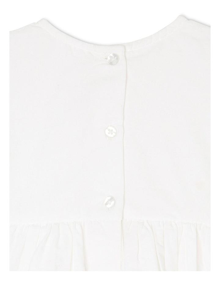 Broderie Flutter Sleeve Dress image 5