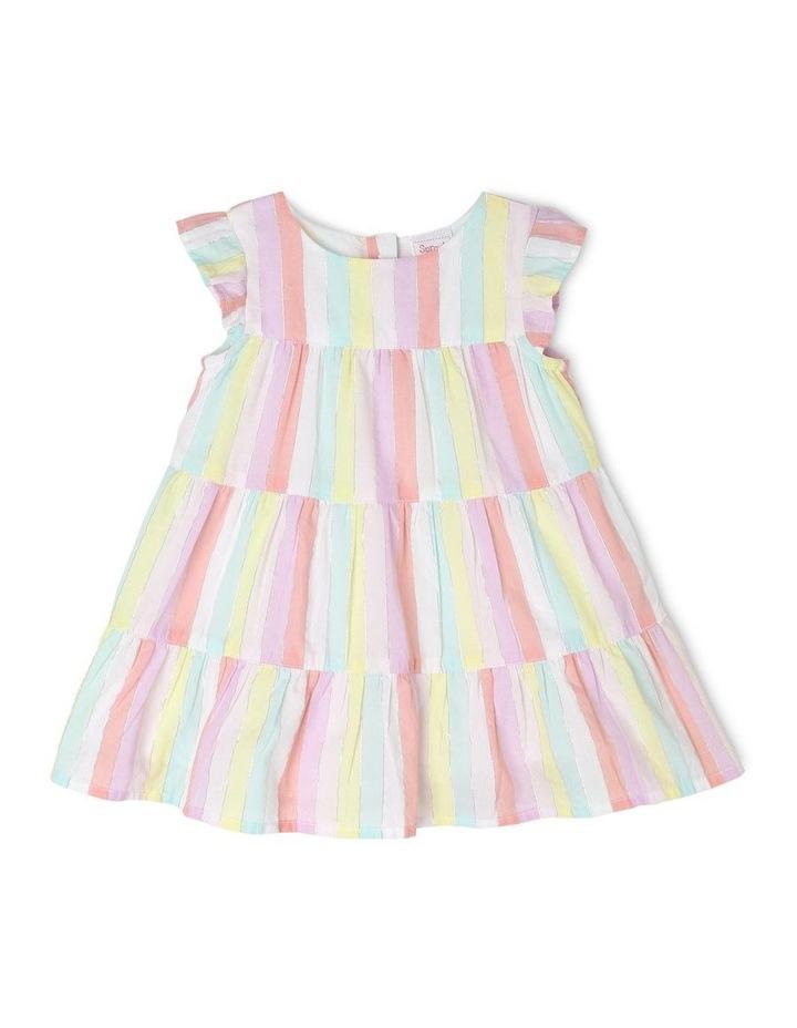 Rainbow Tiered Dress image 1