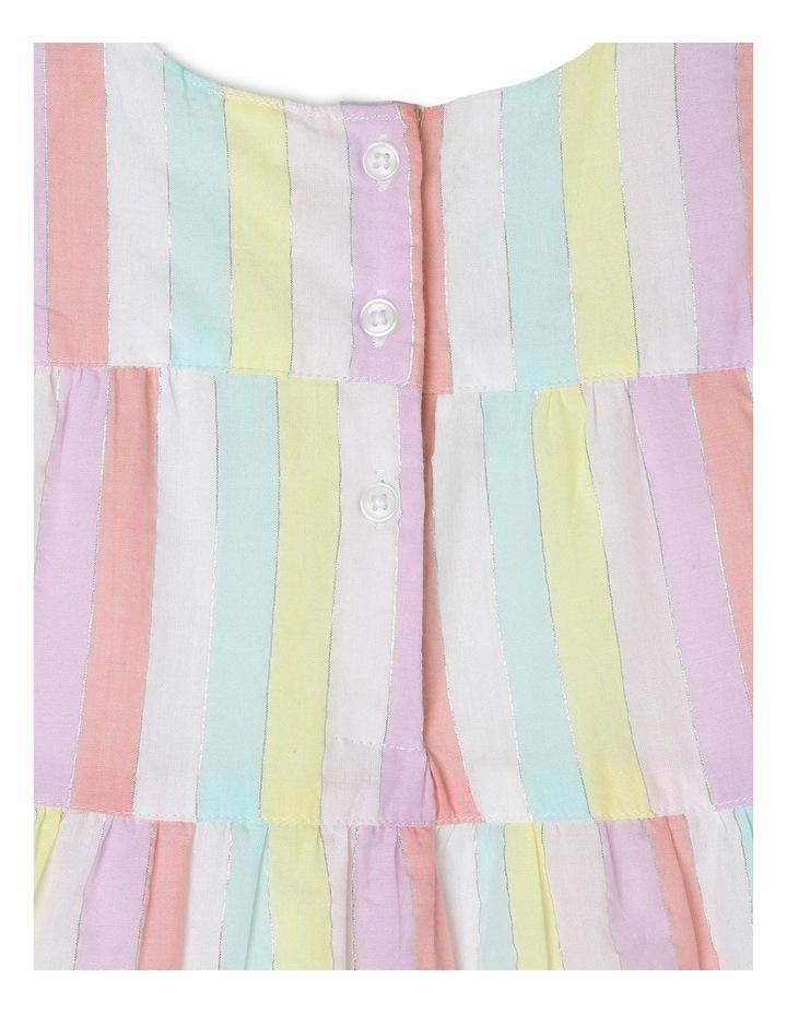 Rainbow Tiered Dress image 4