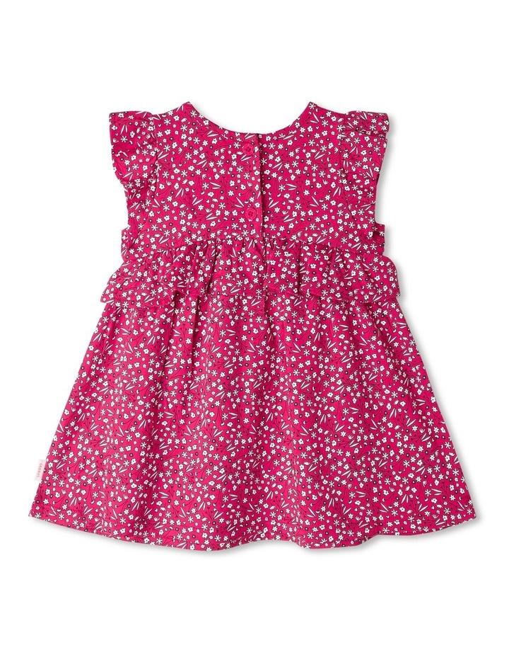 Ruffle Heart Floral Print Dress image 3