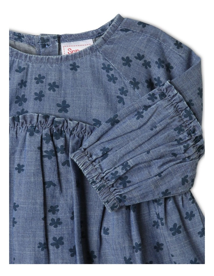 Luna Denim Dress Chambray image 2