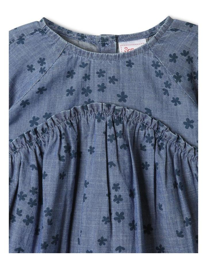 Luna Denim Dress Chambray image 3