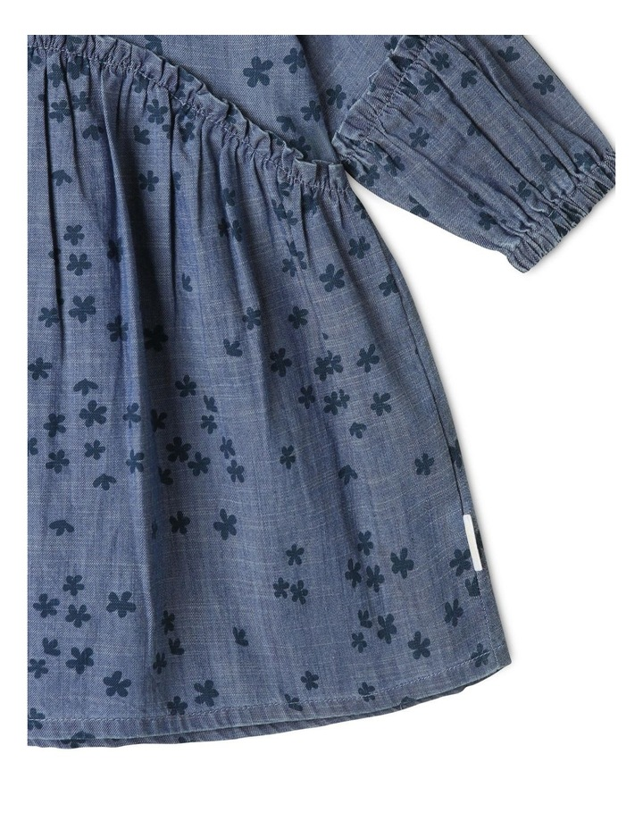 Luna Denim Dress Chambray image 4