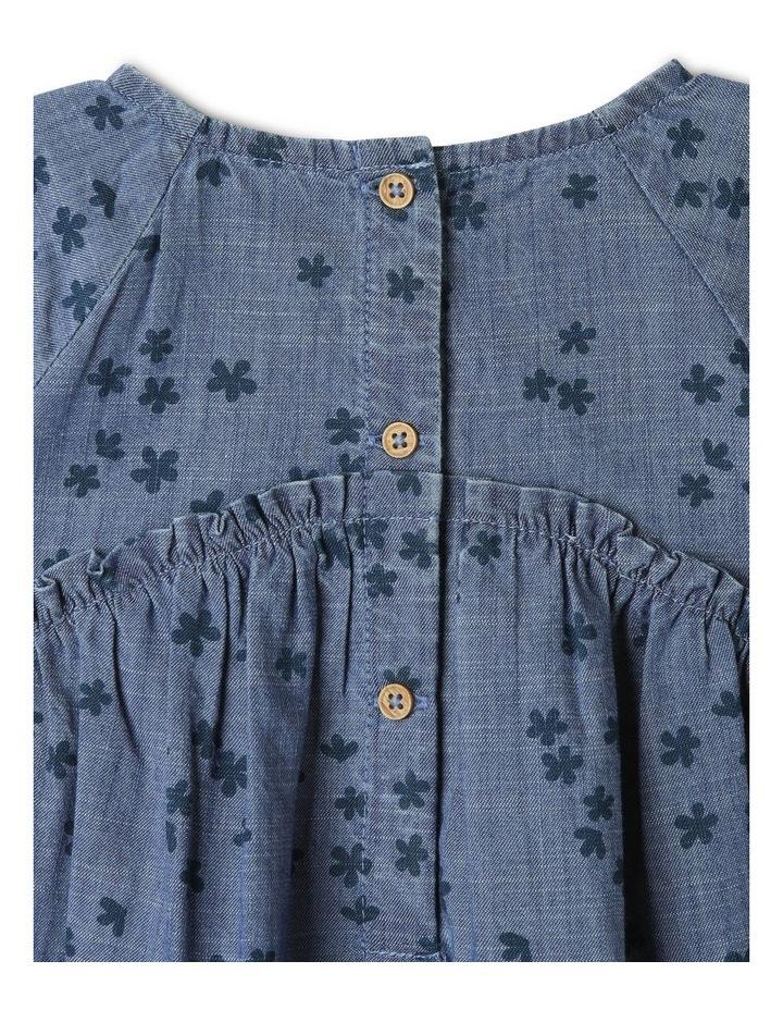 Luna Denim Dress Chambray image 6