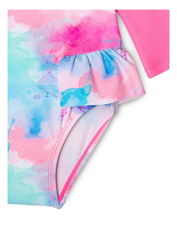 Girls Frill Swimsuit - Chlorine Resistant image 2