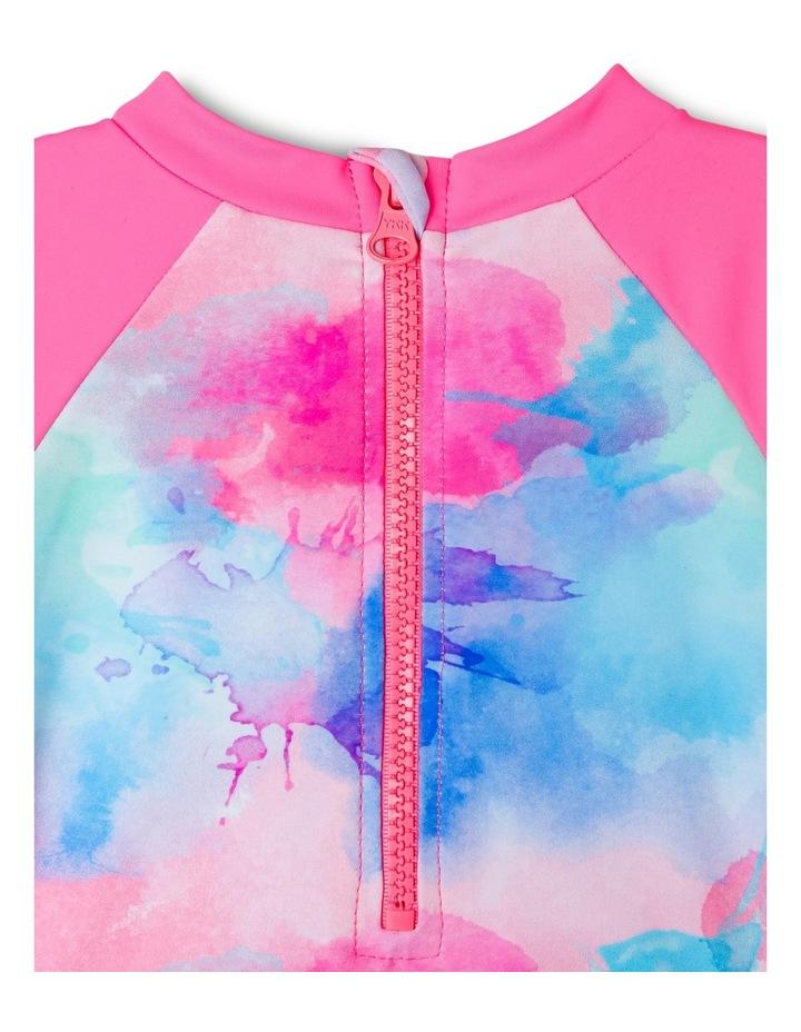 Girls Frill Swimsuit - Chlorine Resistant image 3