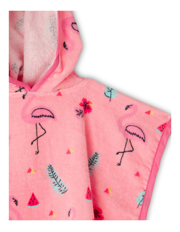 Girls Hooded Swim Towel image 2