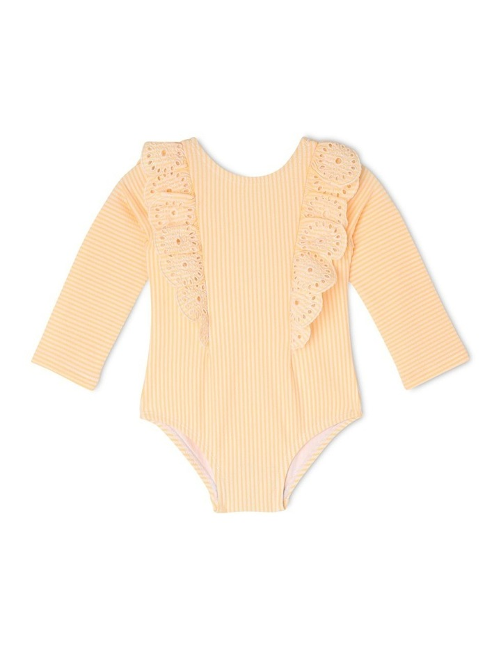 Princess Broderie Frill One-Piece Swimsuit image 1