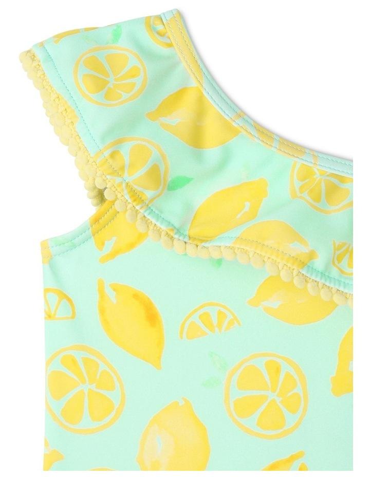 Lemon Print One-Piece Swimsuit image 2