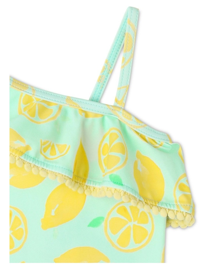 Lemon Print One-Piece Swimsuit image 3