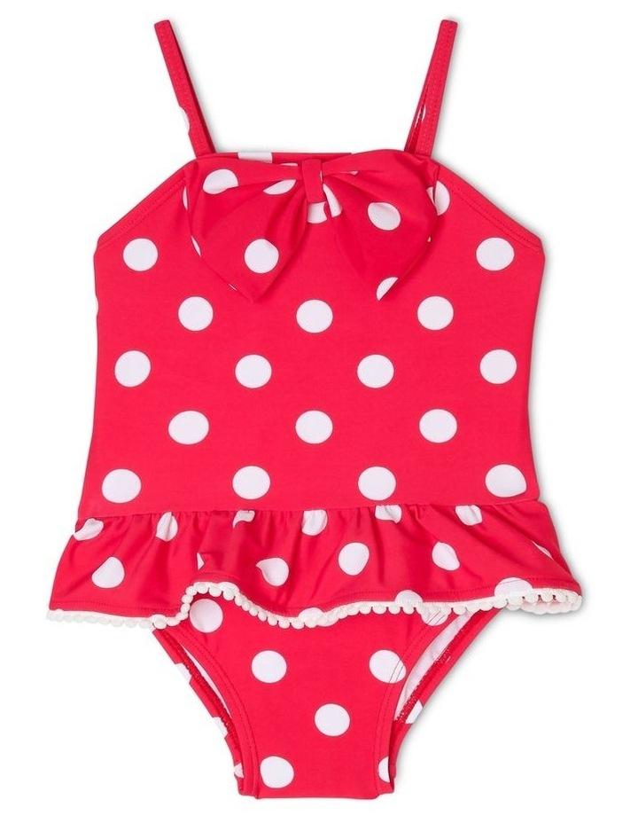 Polkadot One-Piece Swimsuit image 1