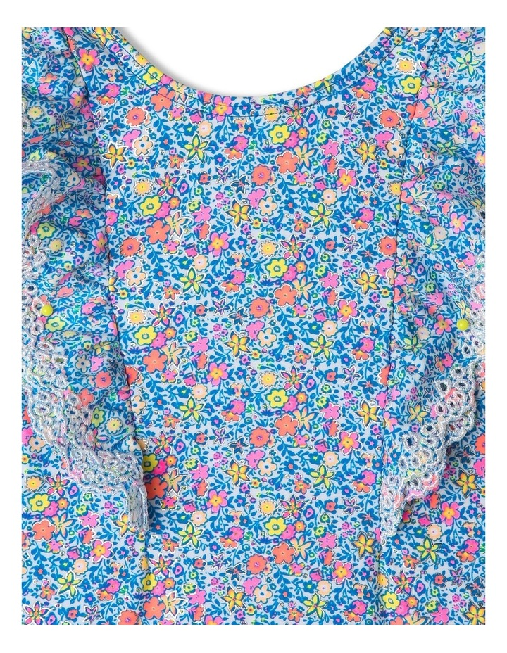 Broderie Frill Long Sleeve Swimsuit image 4