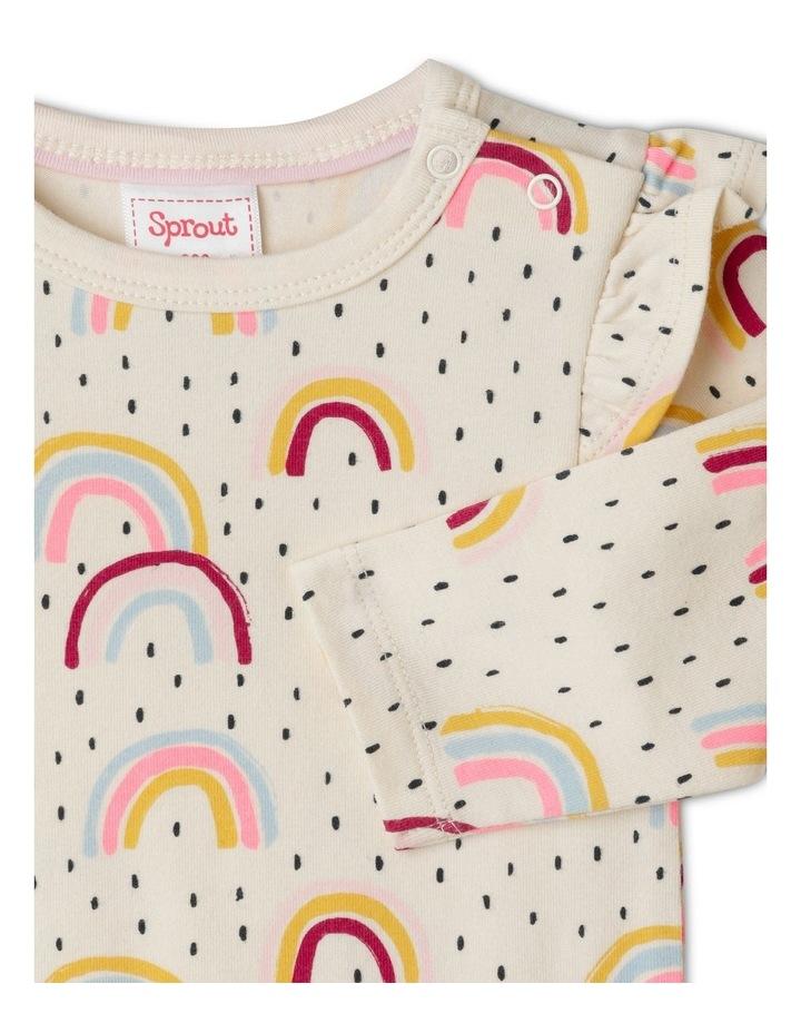 Organic Essential Rainbow Bodysuit image 2