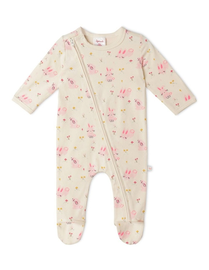 Organic Essential Bunny Field Coverall image 1